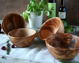 Wooden bowl , Soup bowl , gift for her , gift for him, wedding gift