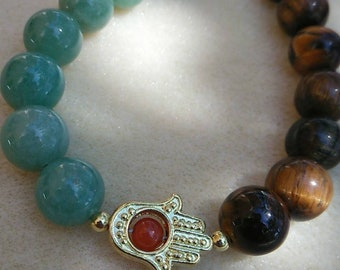 Tigers Eye, Green Aventurine