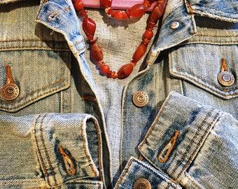 Vintage Jean Jacket -M/L