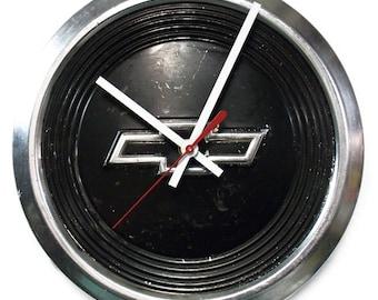 1984 - 1999 Chevrolet S-10 Pickup Truck and S-10 Blazer Hubcap Clock - Chevy Hub Cap - 1985 1986 1987 1988 1989 1990 1991 1992 1993 1994