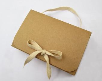 Brown Kraft Box, Gift Box, Kraft Favor Box, Soap Box, Kraft Jewelry Box Set of 20