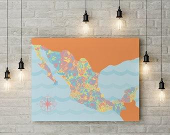 Mexico Illustration