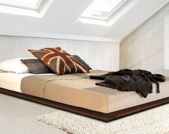 Low Modern Wooden Bed Frame by Get Laid Beds