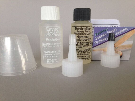Jewelers Grade Crystal Clear Resin, by EnviroTex  2oz.crystal clear resin easy to use, and perfect to mix just the amount you need.
