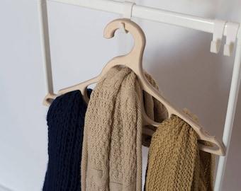 Bridal hanger Gift ideas Dress hanger Gift for him Sale Clothing storage Hanger for tie Christmas gift Wooden hanger Scarf hanger
