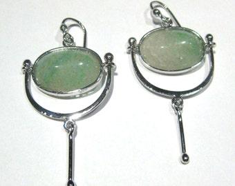 earrings aventurine