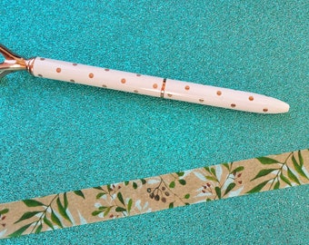 Flower Washi Tape// Spring Washi Tape