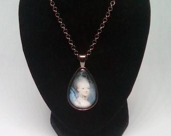 18th century lady.