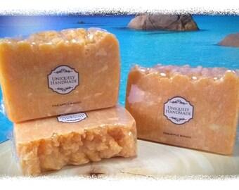 Pineapple Mango  cold process coconut oil soap 4.5oz