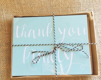 Thank You Cards - Pack of 10