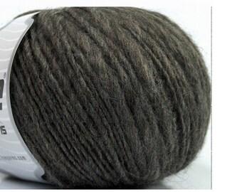 Chunky alpaga laine laine Camel gris gris foncé tissage macramé fil #37543 de mèche