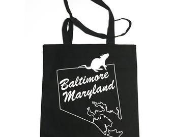Baltimore City Tote Bag