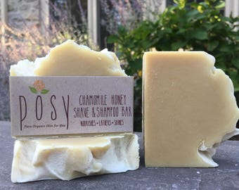 Chamomile & Honey Shave and Shampoo Bar