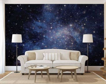 Wall Decal Constellation, Wallpaper Constellation, Wall Mural of The Sky, Constellation Wall Decal
