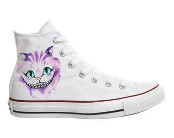 Converse shoes Cheshire Cat Alice in Wonderland