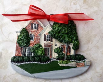Custom listing for momjm6- one Custom House Ornaments- a cherished keepsake of your home