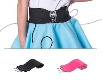 "50's Child 2.5"" Elastic Cinch Belt"