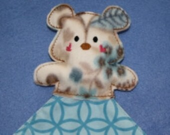 Digital Download  Teddy Bear Blanket Topper Embroidery Machine Design for the 5x7 hoop