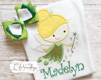 Fairy shirt, fabric tutu, fairy princess tutu, tink fairy shirt, princess tutu, fairy birthday tutu, halloween fairy costume,