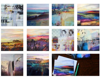Special Offer - Set of all 10 Greetings cards - Buy the whole set and save over 25 percent off each card.