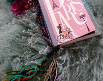 FREE SHIPPING Bookmark with Tassels with a Bohemian Flare..