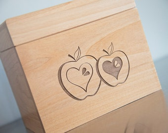 Apple Recipe Box