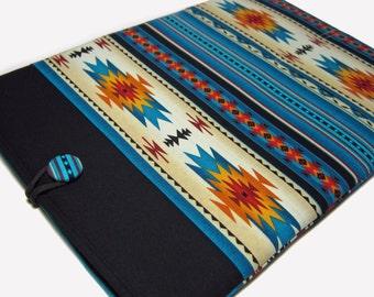 Macbook Pro Case, Macbook Pro Cover, 15 inch Macbook Pro Cover, 15 inch Macbook Pro Case, Laptop Sleeve, Blue Southwest Tucson
