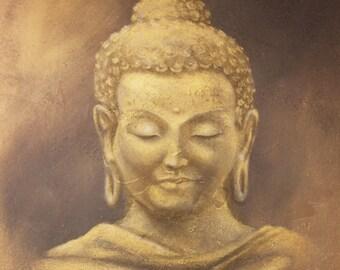 Buddha Art, Buddha Canvas, Buddha Painting, Buddha Artwork, Buddha Wall Art, Buddha Artist, Indian Buddha, Buddhist, Buddha Canvas Art