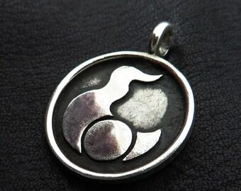 Silver Tzeentch pendant