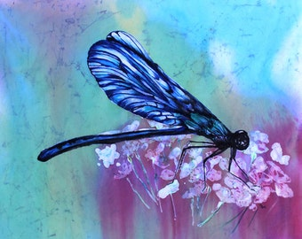 Dragonfly in Blue