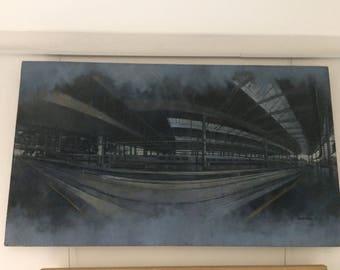 Atocha Train Station by Leslie Gaduzo