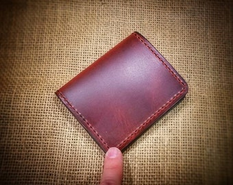 Leather Minimalist Card Wallet