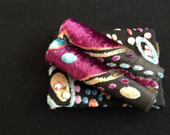 Textile Brooch-SALE