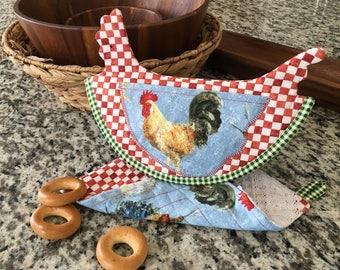 Chicken Potholder  Tutorial.