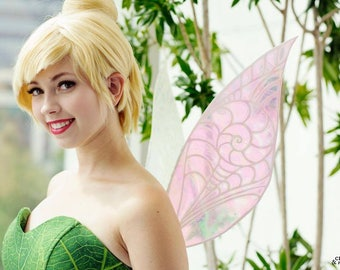 Iridescent Tinkerbell Periwinkle Costume Wings, Cosplay Wings, Fairy Wings, Pixie Wings, Wearable Wings, Tinkerbell Costume