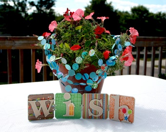 CLEARANCE SALE 50% OFF Birthday Party Decoration - Wish Sign - Baby Shower - Bridal Shower