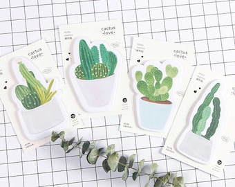 Cactus Love Sticky Notes