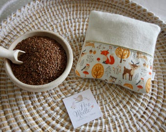 Small hot/cold dry with organic flax seeds - fall Theme