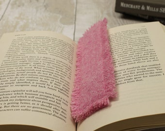 Bookmark Bookmarks Reading Harris Tweed Book Books Teacher Gift Book Lovers Book Accessories Page Marker
