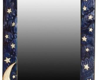 Moon and Stars Wall Mirror
