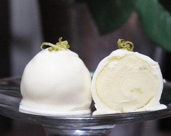 Sweet Limeade White Chocolate Truffle