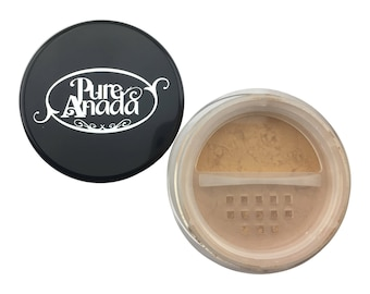 Cappuccino Loose Mineral Foundation: Deep (Olive)