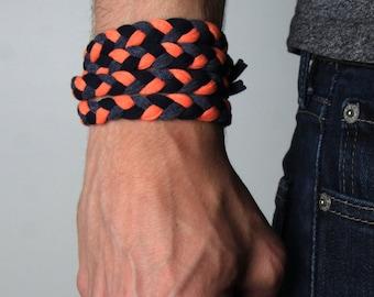 Braided Bracelet, Wrap Bracelet, Boyfriend Gift, Gift for Men, Festival Clothing, Gift for Boyfriend, Festival, Gift for Husband, Boyfriend