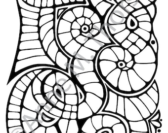 Coloring Book Page - Anne's Obsession 0001