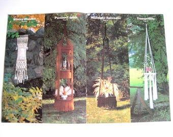 Retro Macrame Home Decor Pattern Book - Macrame Enchantment