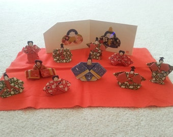 Vintage Japanese Origami Set
