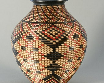 Basket Patterned Vessel/ Segmented Construction
