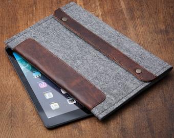 Grey Felt Samsung Galaxy Tab S3 Case. Samsung galaxy tab a 10.1 case. galaxy tab e case. Galaxy tab s2 case.
