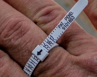 Finger Gauge Ring sizing gauge
