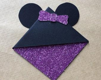 Minnie Mouse Corner Bookmark